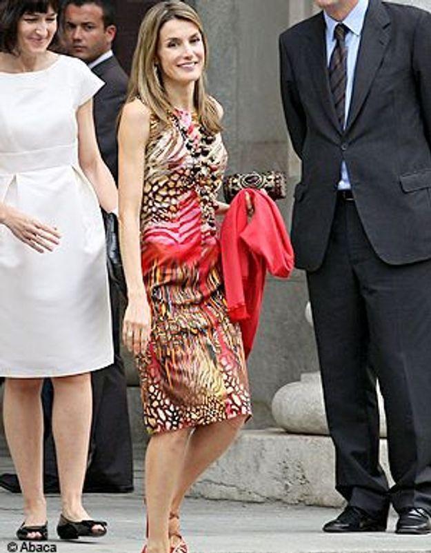 Leticia Ortiz : une princesse espagnole ethnique chic !