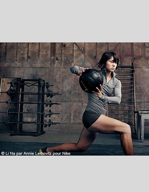 Li Na shootée par Annie Leibovitz pour Nike