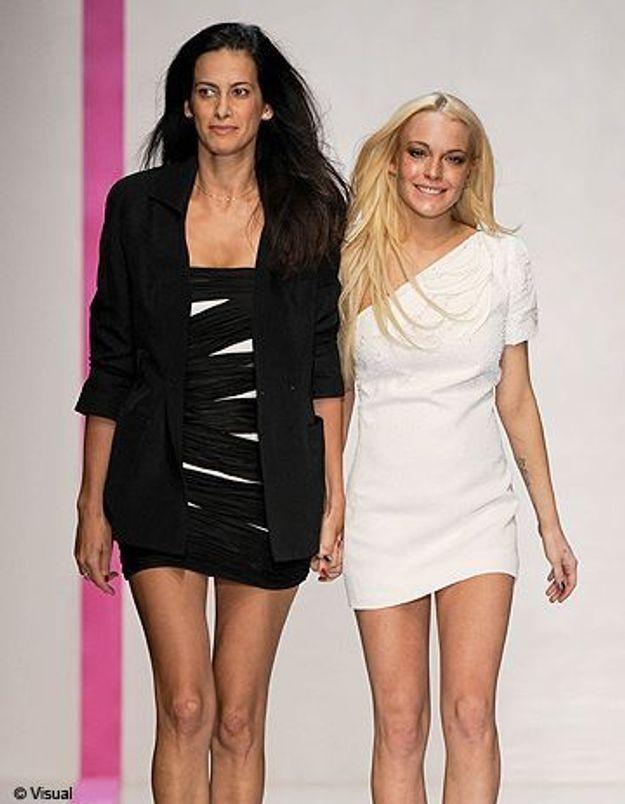 Lindsay Lohan pour Ungaro : la collection se vend bien