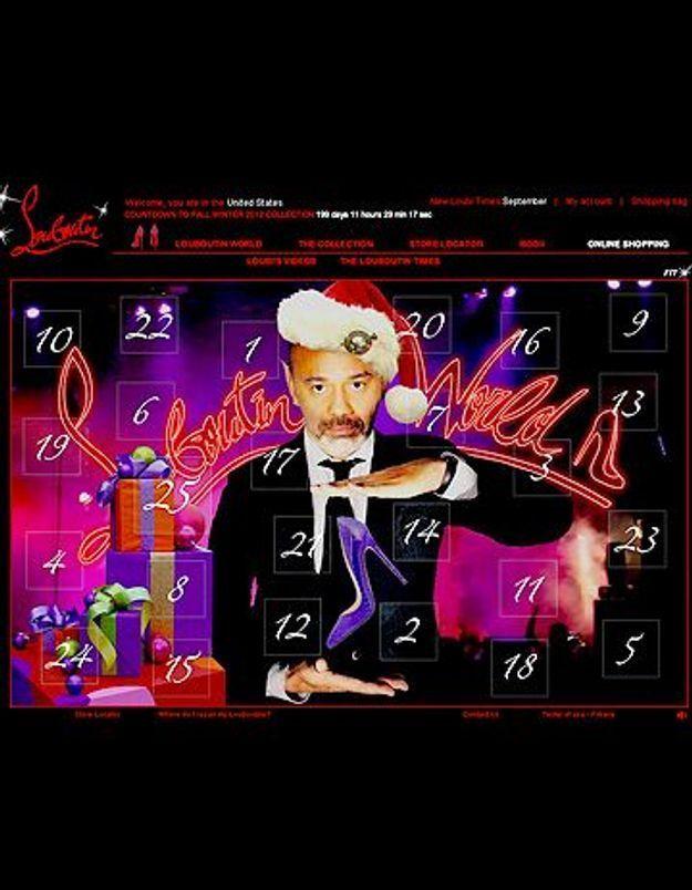 Louboutin crée son propre calendrier de l'avent