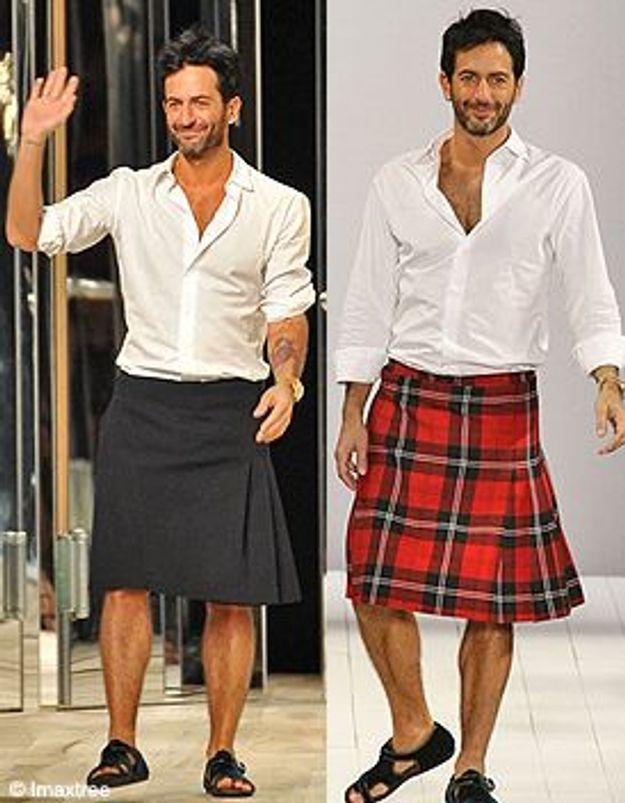 Marc Jacobs porte la jupe