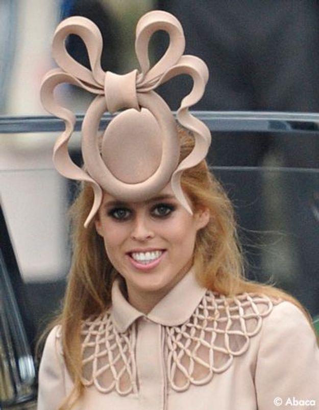 Mariage princier : le bibi de la princesse Beatrice en vente