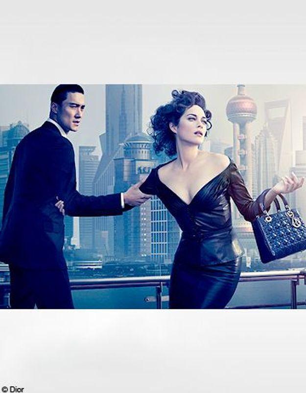 Marion Cotillard : pour Dior, elle s'envole à Shanghai