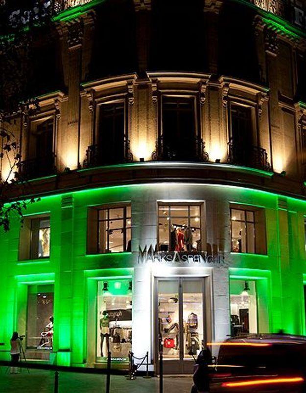 Marks & Spencer fait son grand retour sur les Champs Elysées