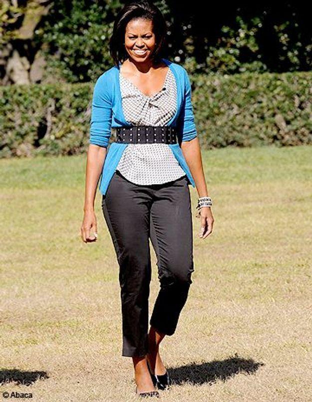 Michelle Obama portera la cuissarde sans talon