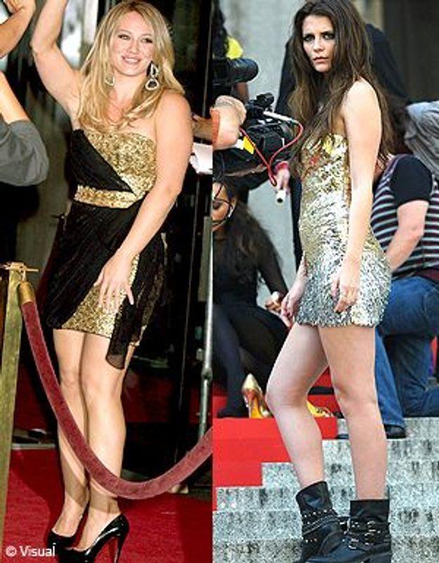 Mischa Barton et Hillary Duff : stars bling bling sur les plateaux