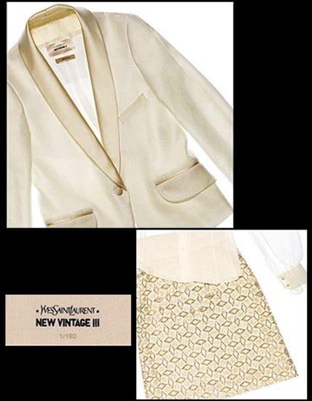 « New Vintage » par Yves Saint Laurent