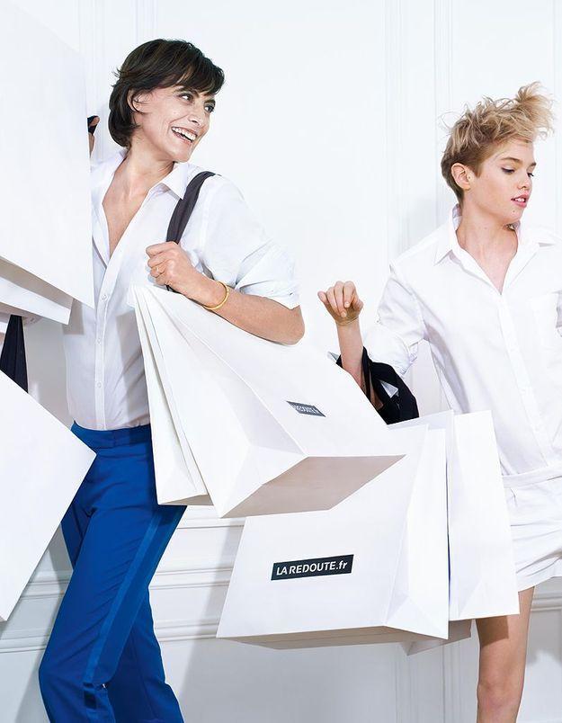 On shoppe avec Inès de la Fressange chez La Redoute