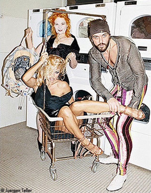 Pamela pour Westwood : les premières photos !