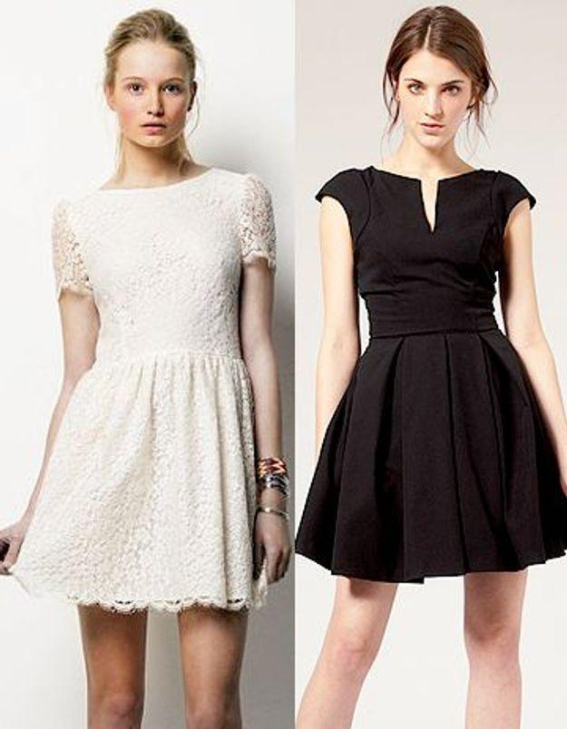 Petite robe blanche ou noire : une vraie querelle de filles !
