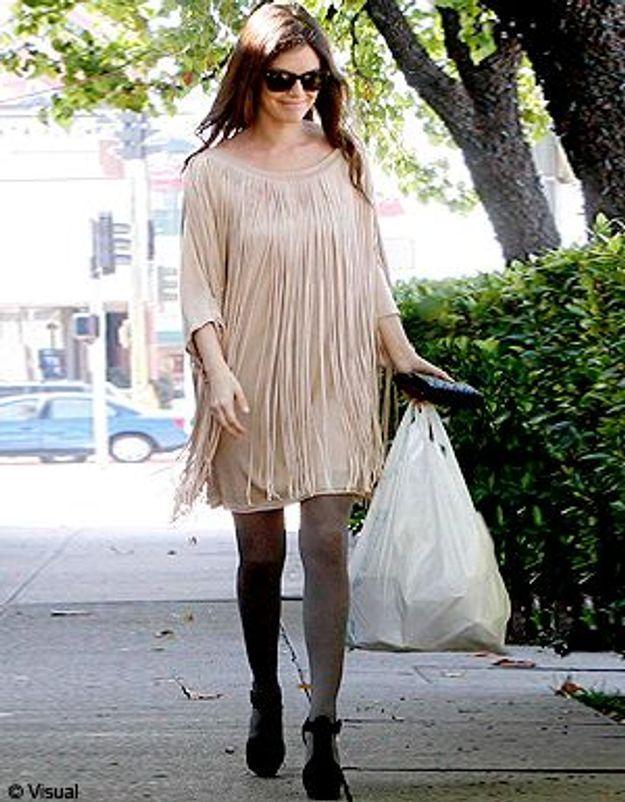 Rachel Bilson ose la robe à franges !