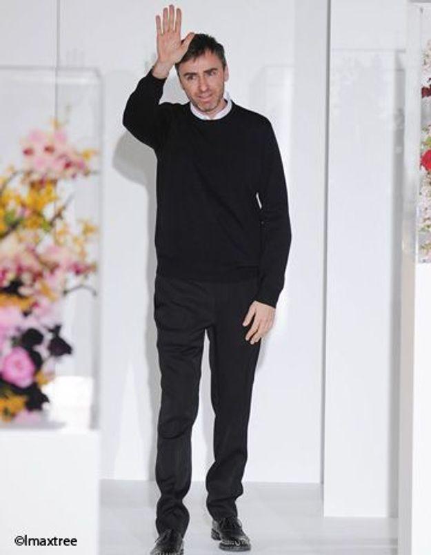 Raf Simons chez Dior : c'est officiel !