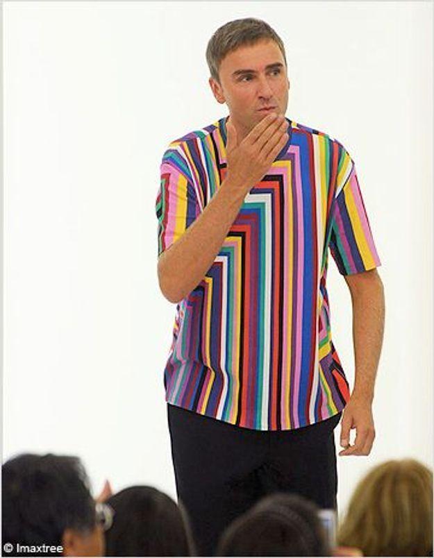 Raf Simons chez Yves Saint Laurent ?