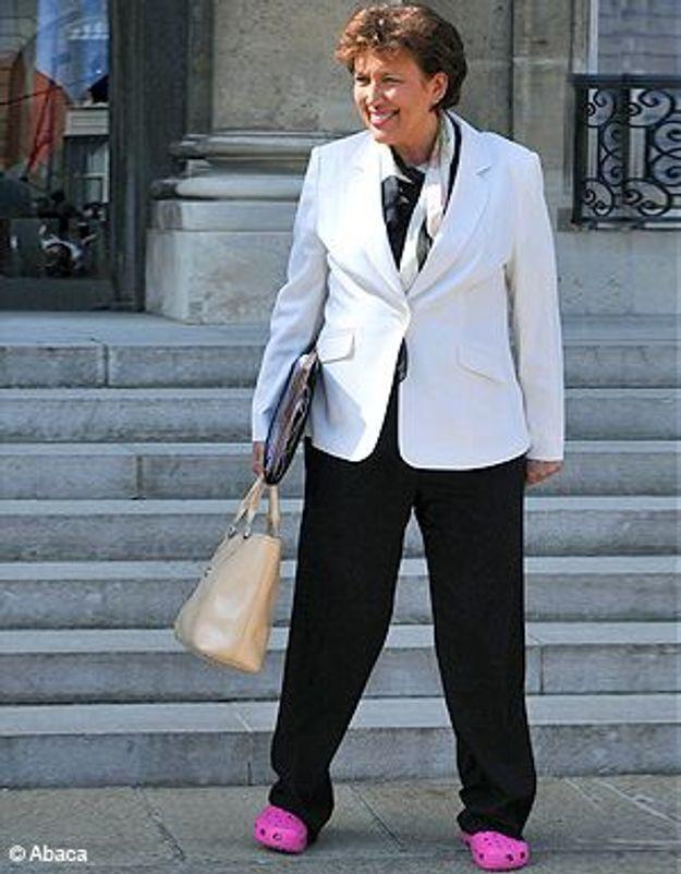 Roselyne Bachelot ne veut plus de ses crocs roses