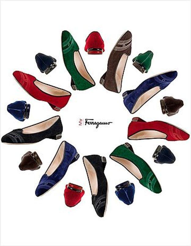 Salvatore Ferragamo lance sa nouvelle ligne de chaussures !