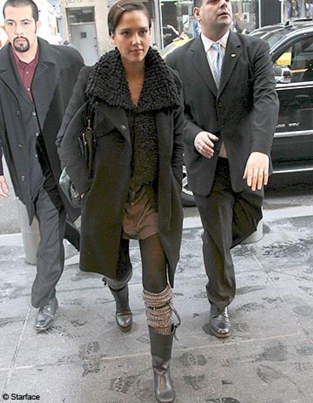 Sexy en hiver ? Jessica Alba a tout compris !