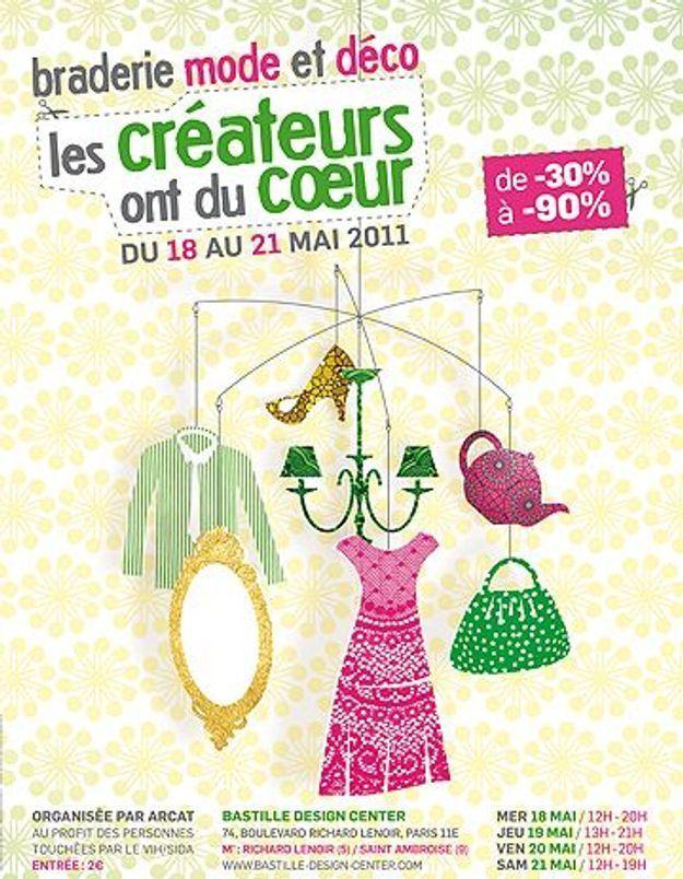Shopping caritatif : « Les créateurs ont du cœur »