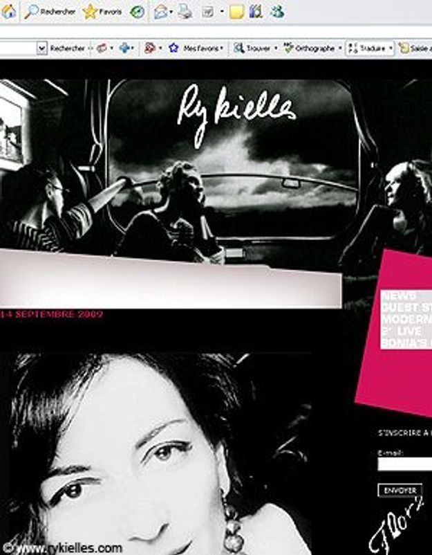 Sonia Rykiel ouvre son blog !