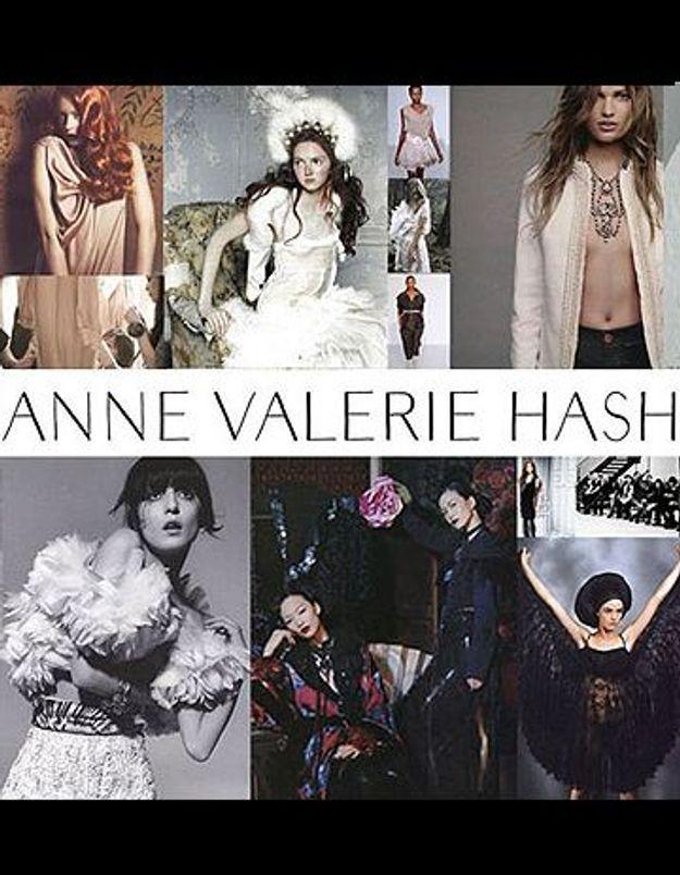 Soyez les premières clientes de l'e-shop Anne Valérie Hash