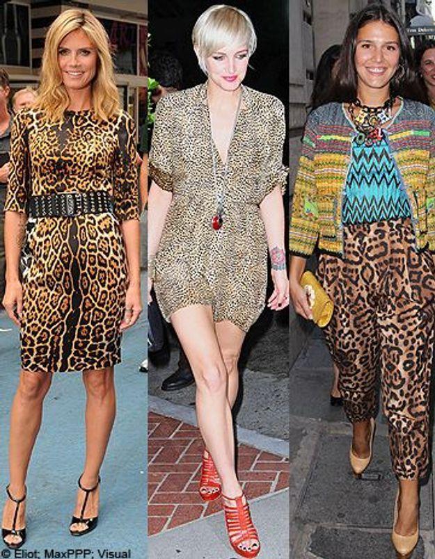 Sur le tapis rouge, les people osent le léopard