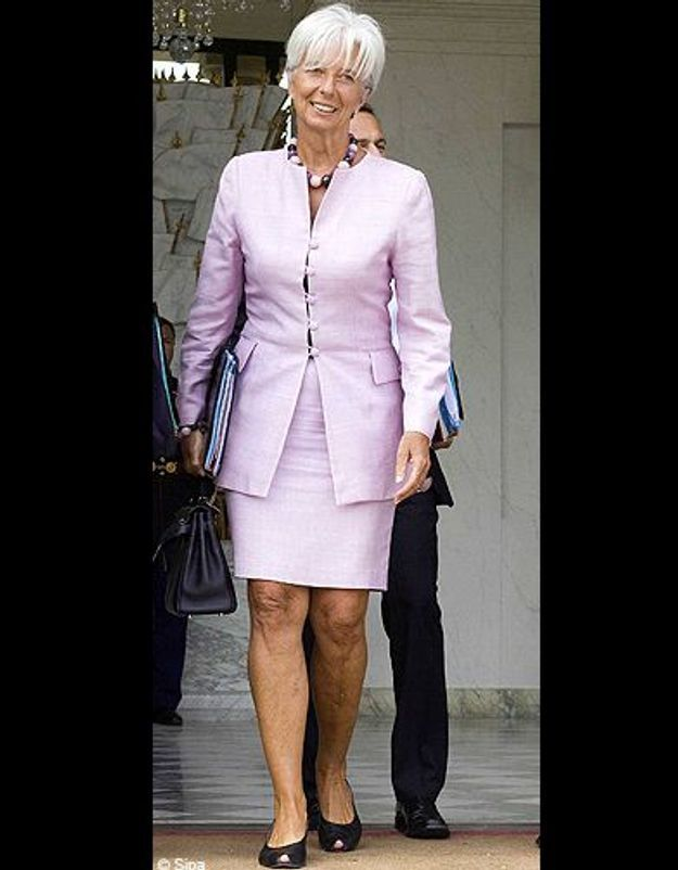 T'as le look… Christine Lagarde