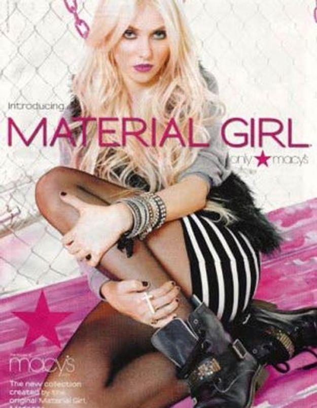 Taylor Momsen égérie de la marque de Madonna