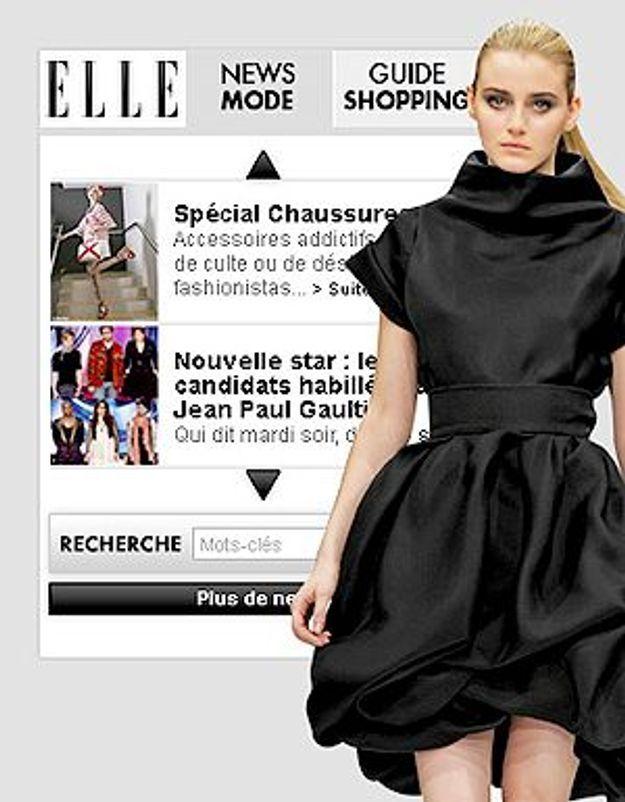 Téléchargez votre widget Mode ELLE.fr !