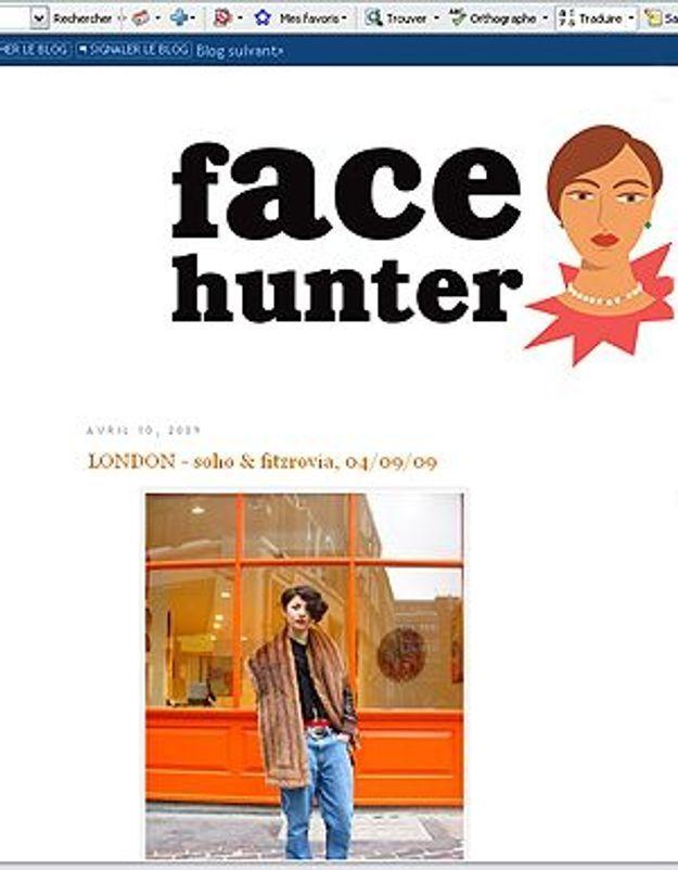 « The Face Hunter » : l'auteur du blog publié