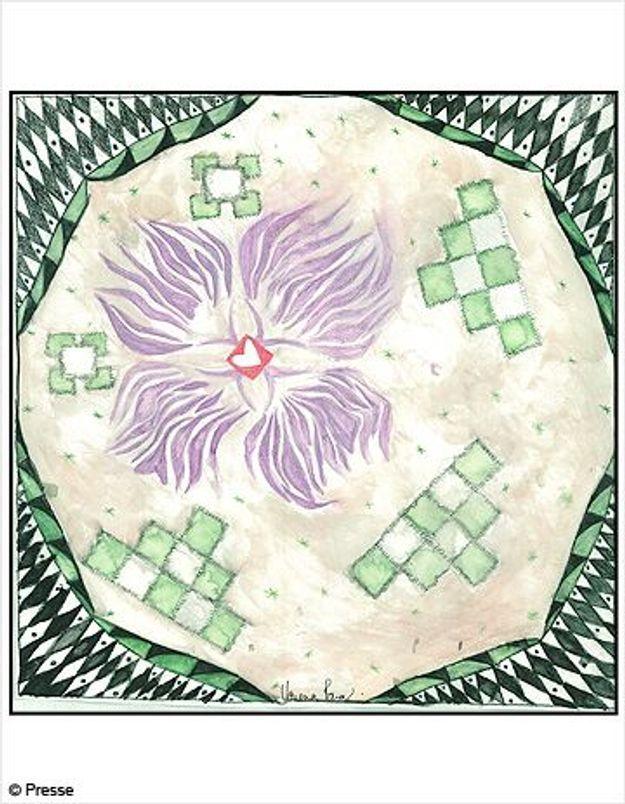 Un foulard qui a du style et du coeur