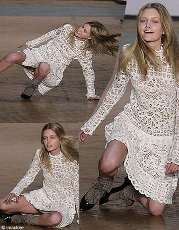 Un mannequin français chute à la Fashion Week de NY