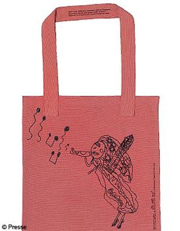 Un shopping bag solidaire