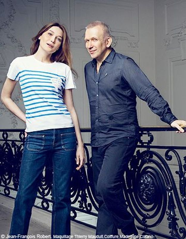 Un T-shirt Jean Paul Gaultier avec votre ELLE !
