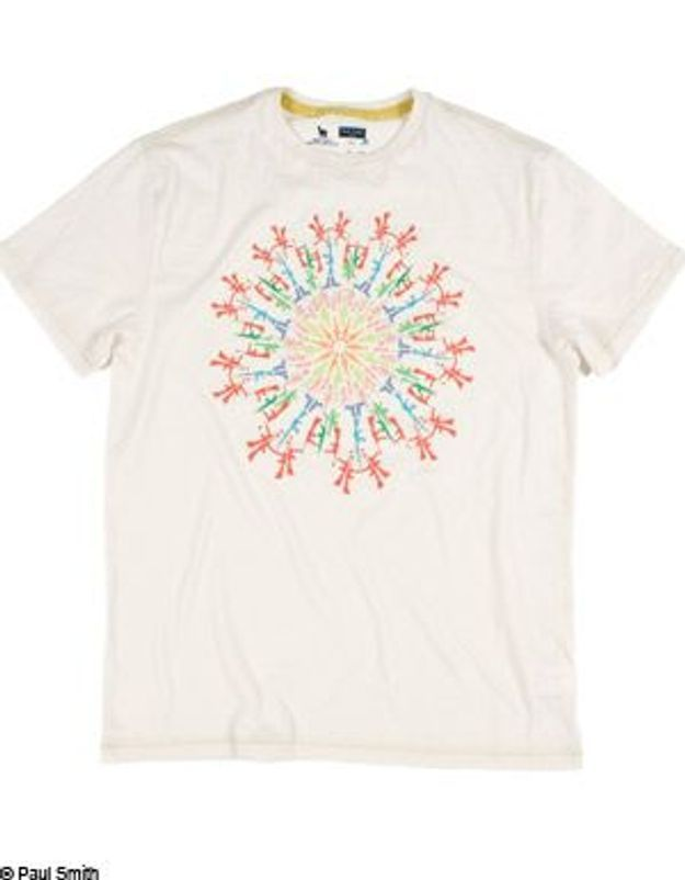 Un tee-shirt Paul Smith pour la bonne cause