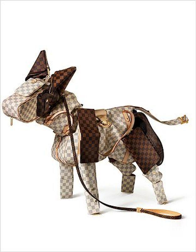 Une animalerie signée Vuitton chez Deyrolle