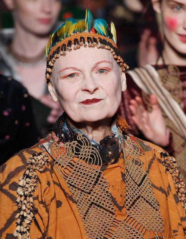 Vivienne Westwood se rase les cheveux pour la cause écolo