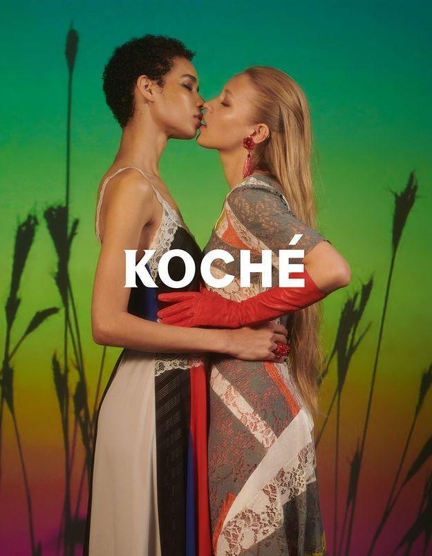 Avec sa première campagne, Koché célèbre l'amour pour tous