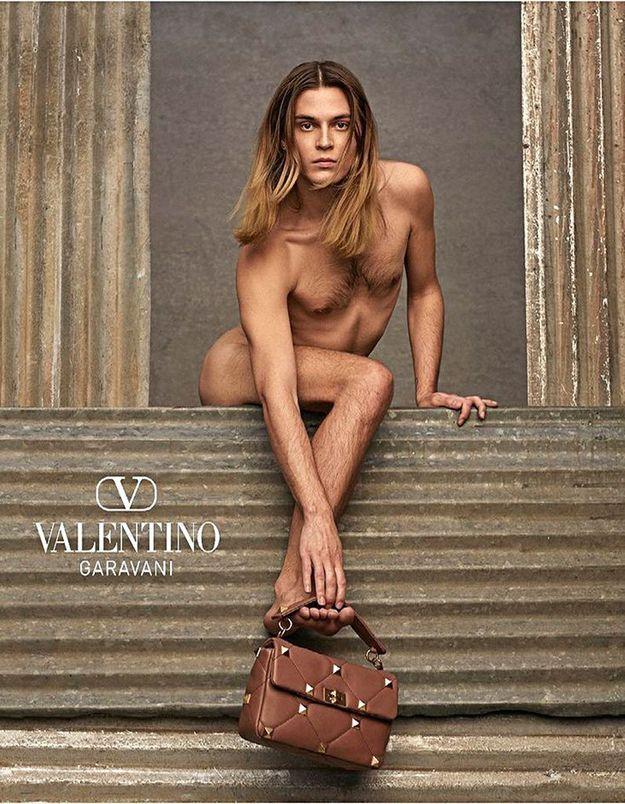 Campagne Valentino : la beauté face à la violence