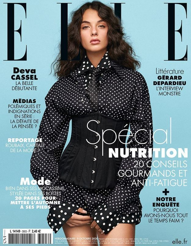 Cette semaine, retrouvez Deva Cassel est en couverture de ELLE !