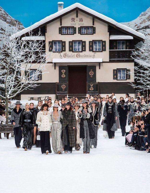 Chanel - le défilé sans Karl : comme un instant au-delà de la mode