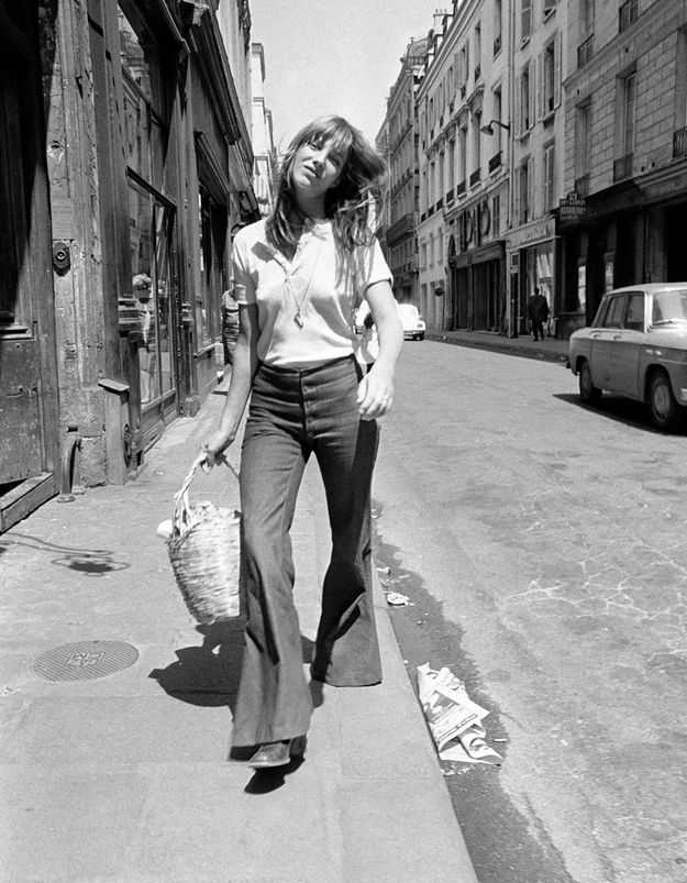 Comment s'approprier le style iconique 70's de Jane Birkin ?