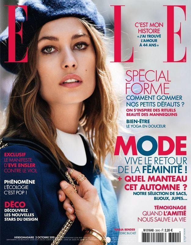#ELLEenKiosque : cette semaine votre ELLE célèbre le retour de la féminité !