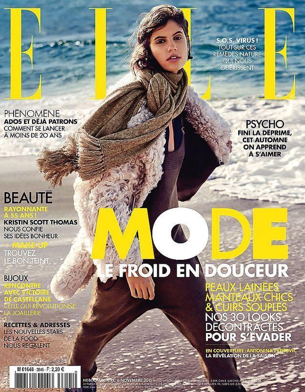 #ELLEenkiosque : manteaux chics, peaux lainées et ponchos, cette semaine votre ELLE vous tient chaud !
