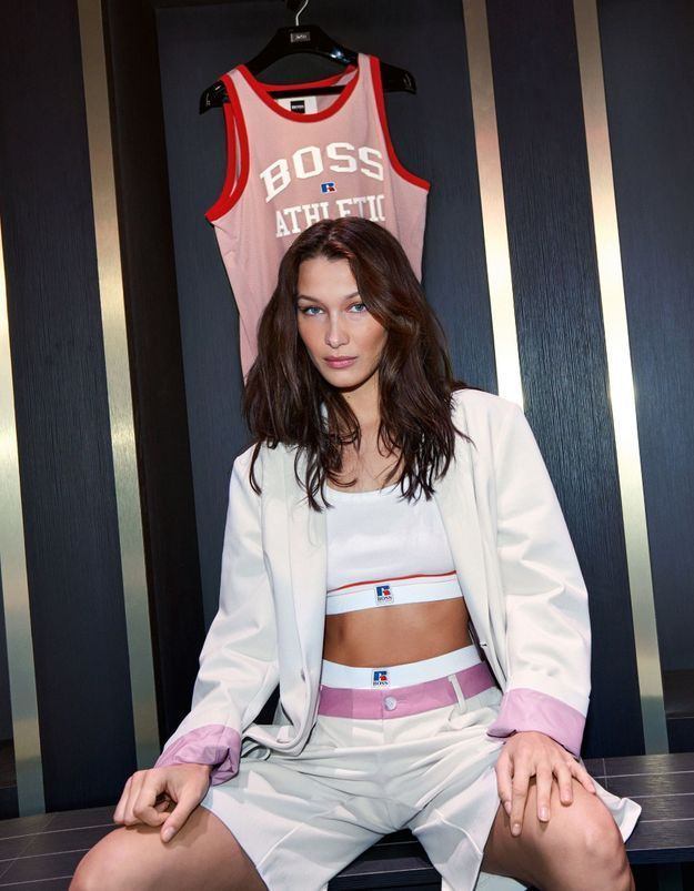 #ELLEFashionCrush :  Boss x Russell Athletic, la collab pour se donner des airs de cheerleader américaine
