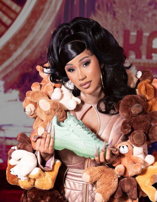 #ELLEFashionCrush : la collaboration Reebok x Cardi B pour les mamans à la mode