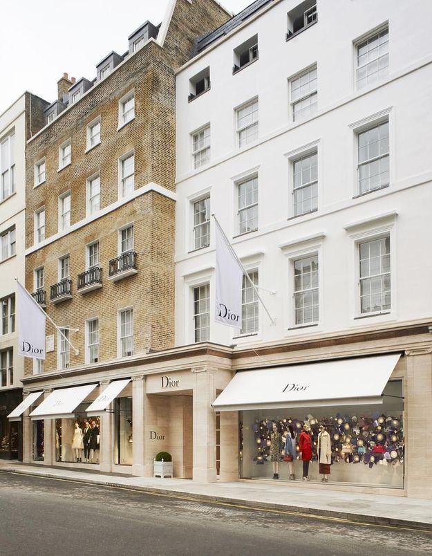 #ELLEFashionSpot : Dior inaugure un nouvel écrin à Londres