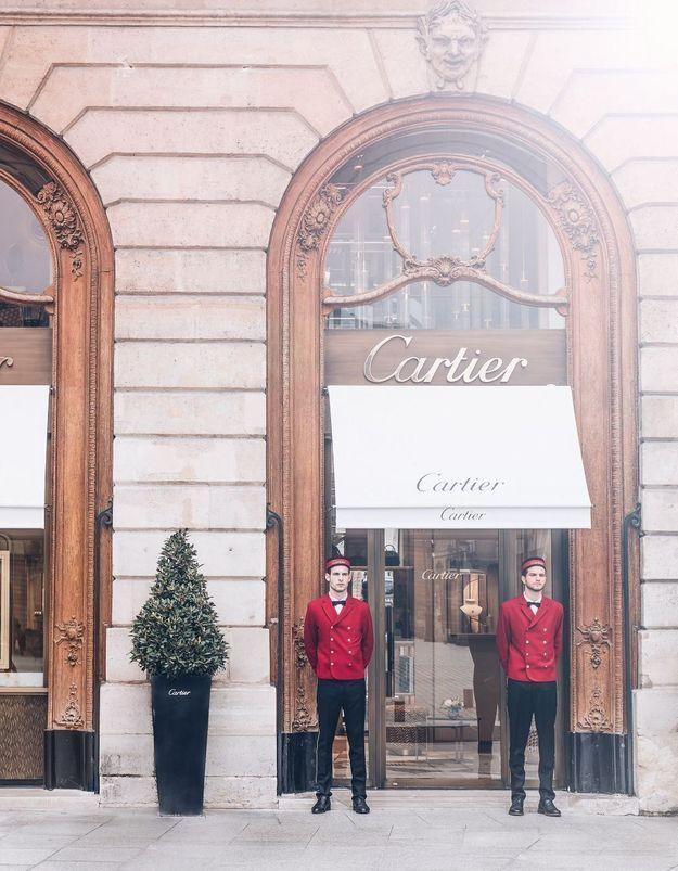 #ELLEFashionSpot : la nouvelle boutique Cartier 23 Place Vendôme