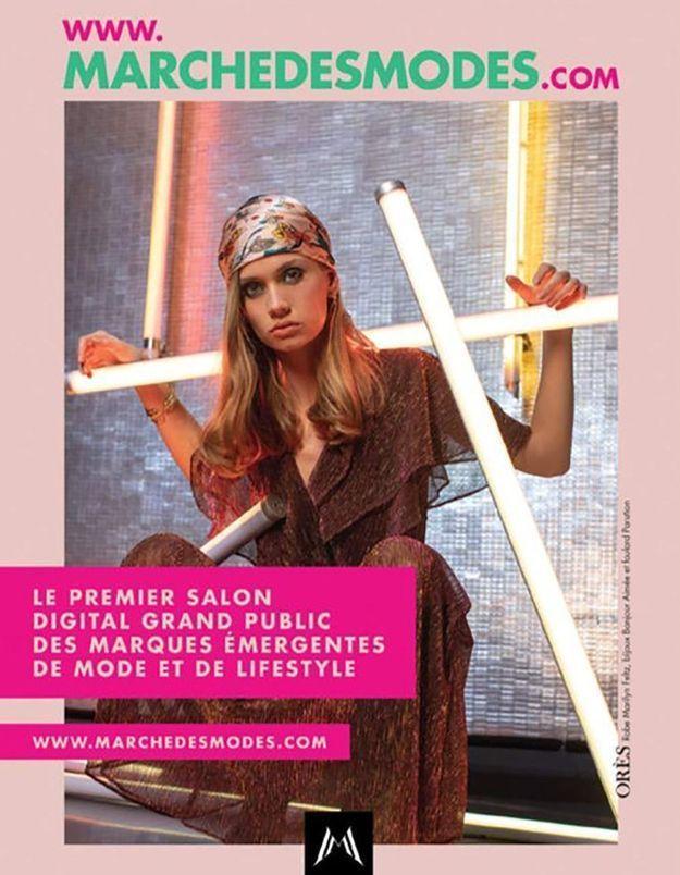 #ElleFashionSpot : Le Marché des Modes a finalement lieu en ligne