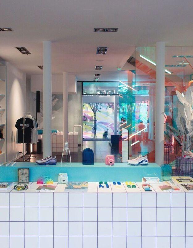 #ELLEFashionSpot : Reebok ouvre une boutique pop-up autour des années 90