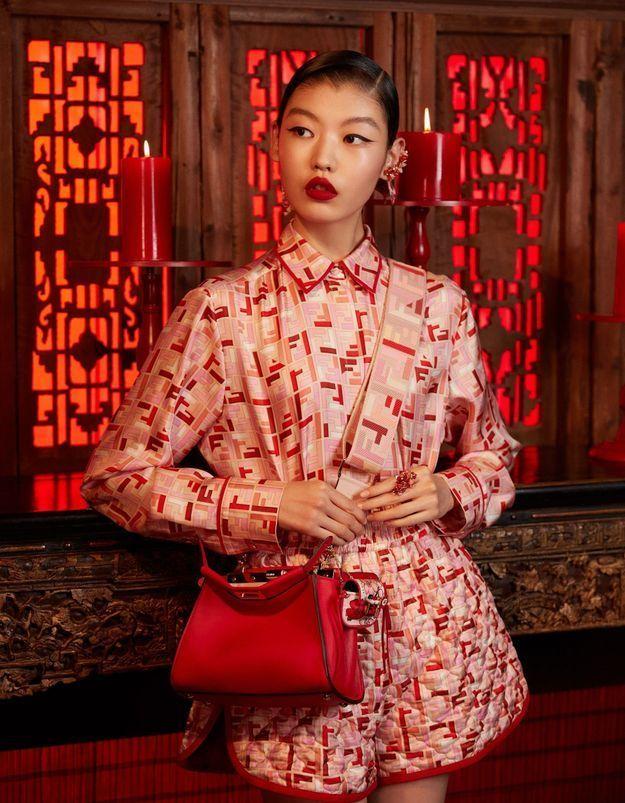 Exclu : Fendi fête le nouvel an chinois avec une collection capsule exquise