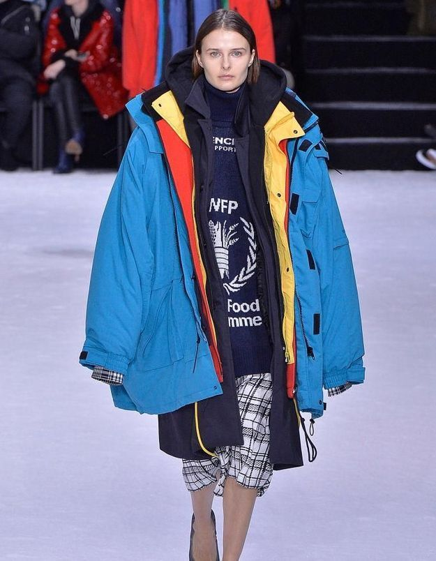Fashion week de Paris - Balenciaga : Think Big